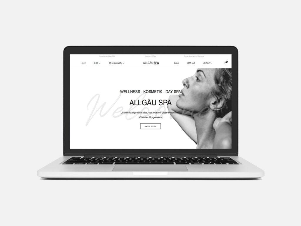 Referenz Webdesign Online Shop